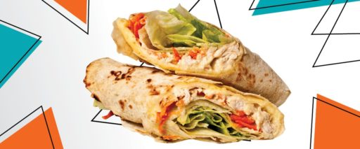 Wraps do Ponto Onze